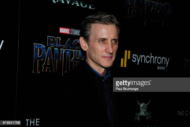 Dan Abrams attends The Cinema Society with Ravage Wines Synchrony host a screening of Marvel Studios' 'Black Panther' at The Museum of Modern Art on...