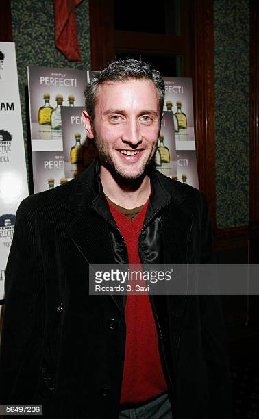Dan Abrams attends the Niche Media Hendrix Electric Vodka's Holiday Launch Party celebrating the release of Aspen Peak Magazine's January issue and...