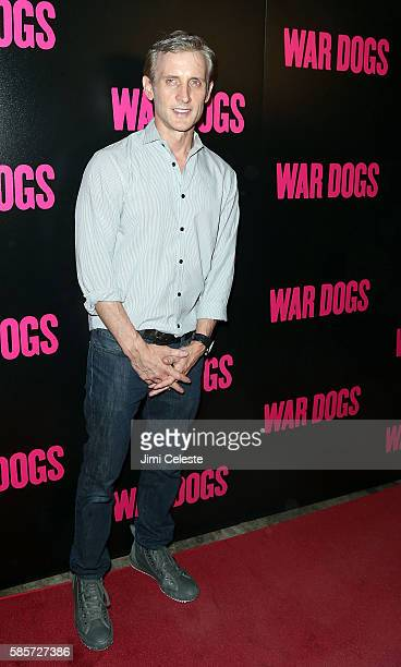 """Dan Abrams attends the special screening of """"War Dogs"""" at Metrograph on August 3, 2016 in New York City."""