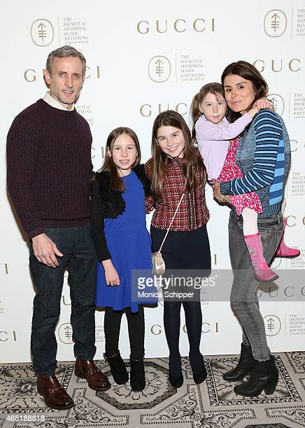 Dan Abrams Florinka Pesenti and familyÊattend the 24th Annual Bunny Hop at 583 Park Avenue on March 3 2015 in New York City