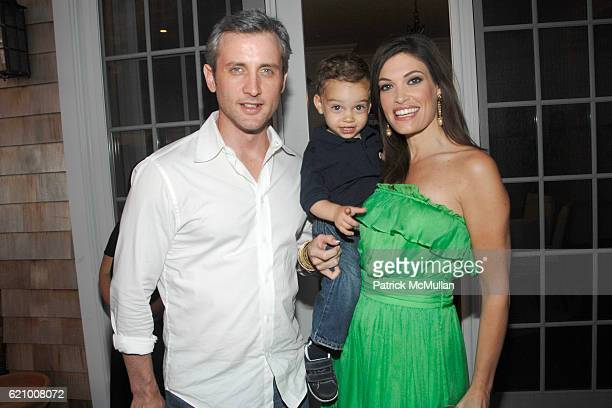 Dan Abrams Ronan Villency and Kimberly Guilfoyle Villency attend A Taste of the Good Life with BEST LIFE Sunset Cocktail Party at Private Residence...