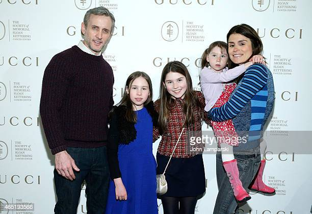 Dan Abrams Teddy Abrams Dillan Abrams Finlay Abrams and Florinka Pesenti attend 24th Annual Bunny Hop at 583 Park Avenue on March 3 2015 in New York...