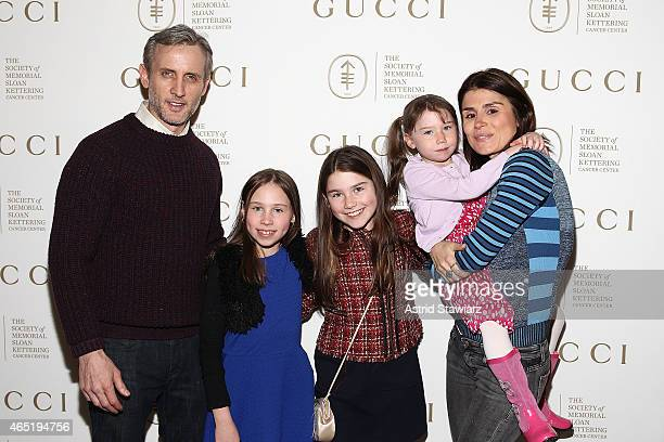 Dan Abrams Teddy Abrams Dillan Abrams Finlay Abrams and Florinka Pesenti attend Associates Committee of the society of Memorial Sloan Kettering...