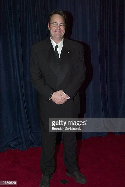 Dan Ackroyd arrives at the United States State Department for a dinner in Washington Saturday December 6 2003 evening preceding tomorrows Kennedy...
