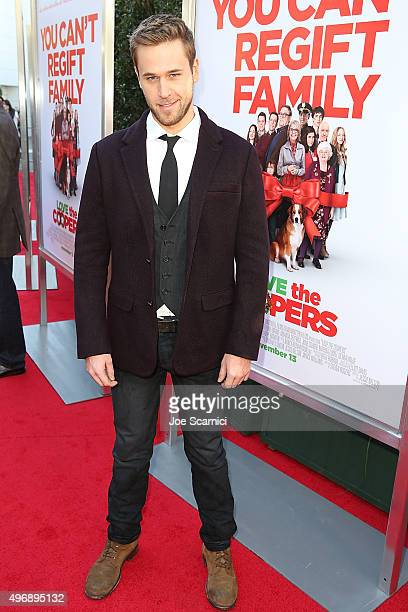 Dan Amboyer attends the Love The Coopers Holiday Luncheon Benefiting The LA Regional Food Bank at The Grove on November 12 2015 in Los Angeles...