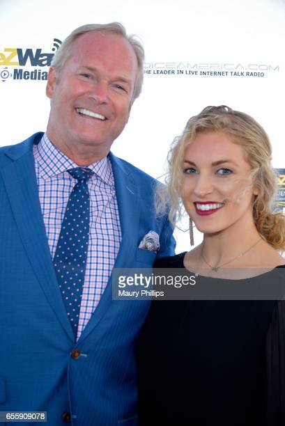 Dan and Alex Clark arrive at the 1st Annual Influencers Unite Gala and Eric Zuley birthday celebration on March 18 2017 in Dana Point California