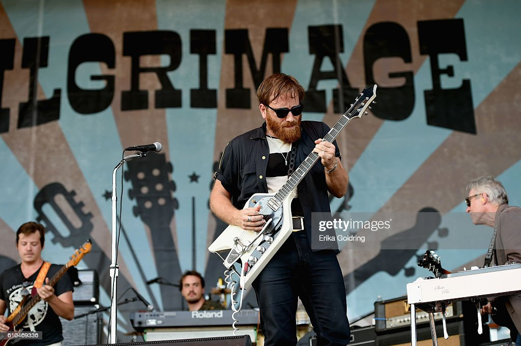 Dan Auerbach of The Arcs performs onstage at the Pilgrimage Music & Cultural Festival - Day 2 on September 25, 2016 in Franklin, Tennessee.