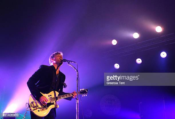 Dan Auerbach of The Black Keys performs at day two of Down The Rabbit Hole Festival at De Groene Heuvels on June 28 2014 in Beuningen Netherlands