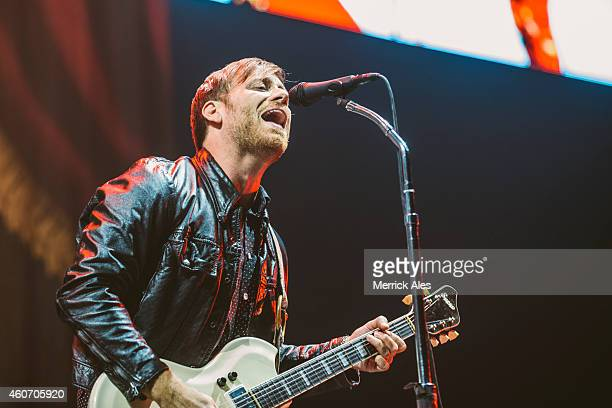 Dan Auerbach of The Black Keys performs at The Frank Erwin Center on December 19 2014 in Austin Texas