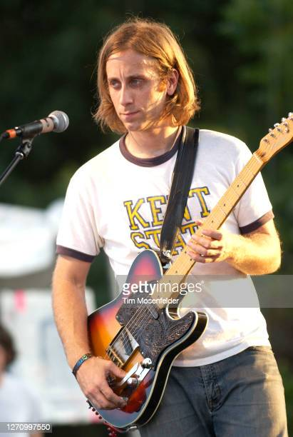 Dan Auerbach of The Black Keys performs during day three of the Austin City Limits Music Festival at Zilker Park on September 24, 2005 in Austin,...