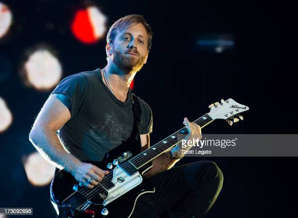 Dan Auerbach of The Black Keys performs during the Quebec Festival D'ete on July 6 2013 in Quebec City Canada