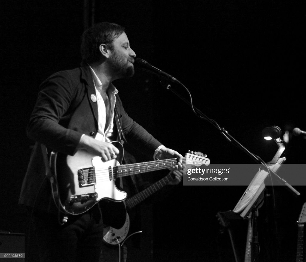 Dan Auerbach of the rock band 'Dan Auerbach and the Easy Eye Sound Revue' performs onstage at the Obervatory on February 18, 2018 in Santa Ana, California.