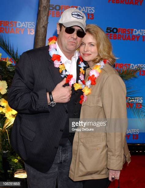 Dan Aykroyd and Donna Dixon during 50 First Dates Premiere at Mann Village Theatre in Westwood California United States