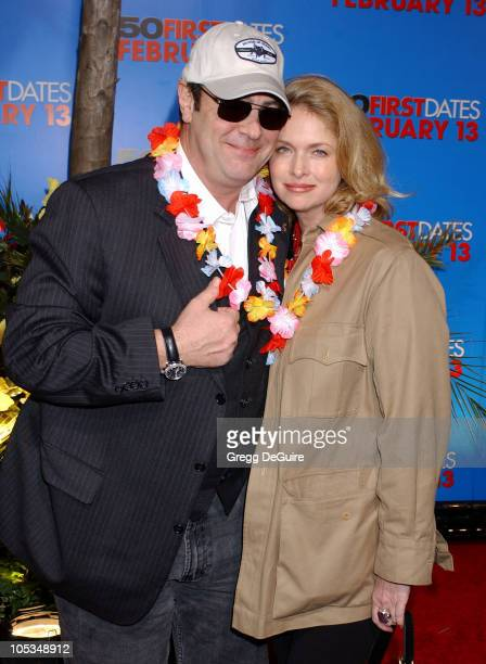 Dan Aykroyd and Donna Dixon during '50 First Dates' Premiere at Mann Village Theatre in Westwood California United States