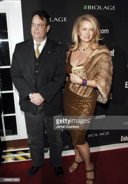 Dan Aykroyd and Donna Dixon during The 78th Annual Academy Awards - Entertainment Weekly New York Viewing Party - Arrivals at Elaine's in New York...