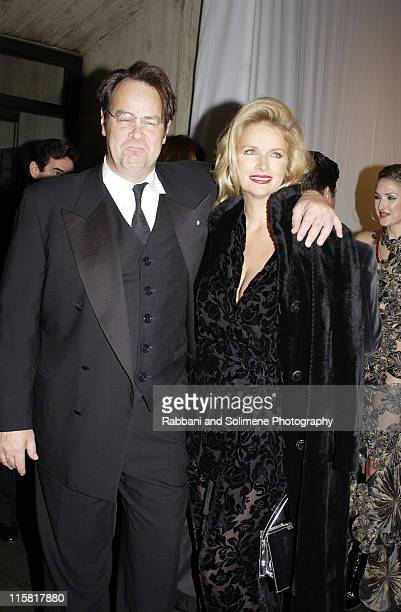 Dan Aykroyd and Donna Dixon during Whitney Gala at the Whitney Museum October 21 2002 at Whitney Museum in New York CIty New York United States
