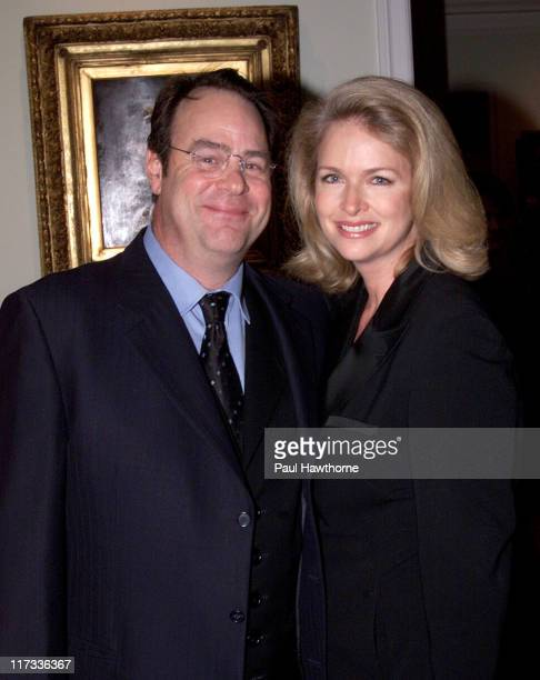 Dan Aykroyd and his wife Donna Dixon during Prelude Party for the Christopher Reeve Paralysis Foundation's 'A Magical Evening Gala' at Private...
