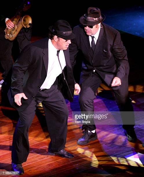 Dan Aykroyd and Jim Belushi during House of Blues Atlantic City Grand Opening at The House of Blues Grand Opening in Atlantic City New Jersey United...