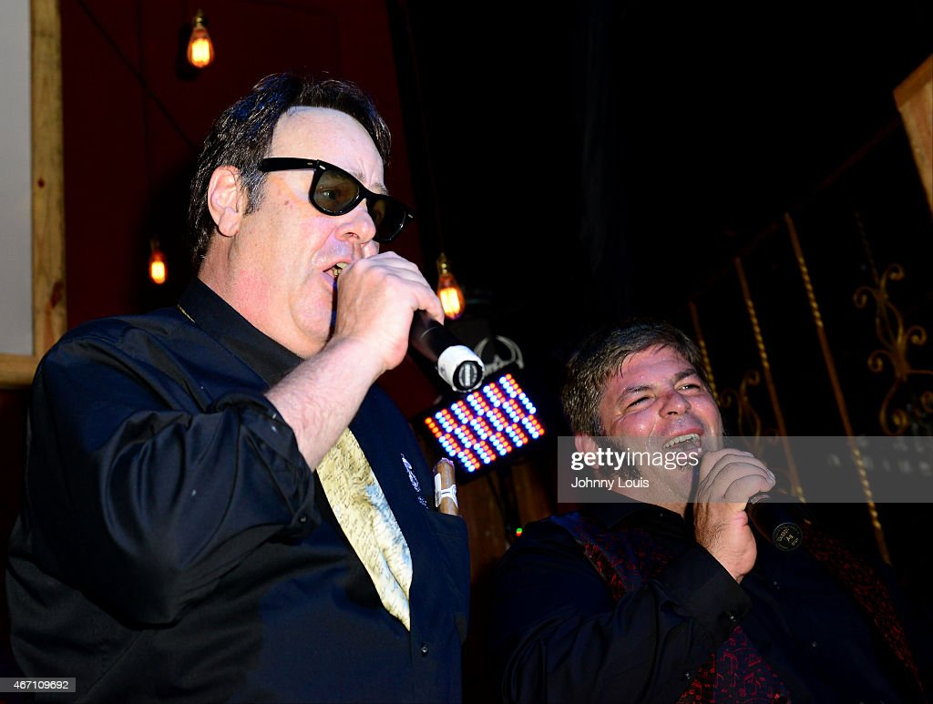 Dan Akyroyd Meets And Greets Fans : News Photo