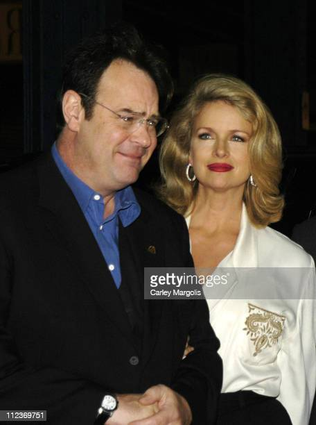 Dan Aykroyd and wife Donna Dixon during The 2004 Riverkeeper Benefit Dinner at Chelsea Piers, Pier 60 in New York City, New York, United States.