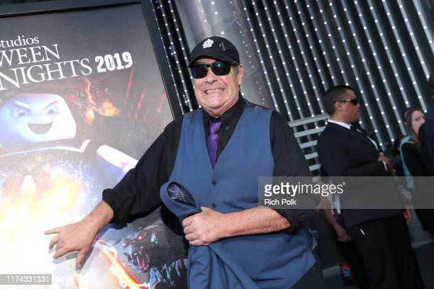 Dan Aykroyd attends Halloween Horror Nights at Universal Studios Hollywood on September 12, 2019 in Universal City, California.