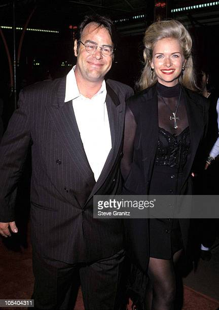Dan Aykroyd & Donna Dixon during APLA Fashion Show Honors Isaac Mizrahi - May 4, 1994 at Mann's Chinese Theater in Hollywood, New York, United States.