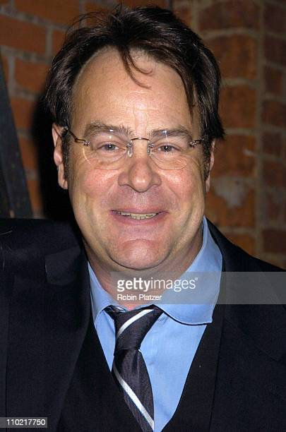 """Dan Aykroyd during """"Living with Fran"""" Premiere Party Sponsored by PureRomance.com at Cain Lounge in New York City, New York, United States."""