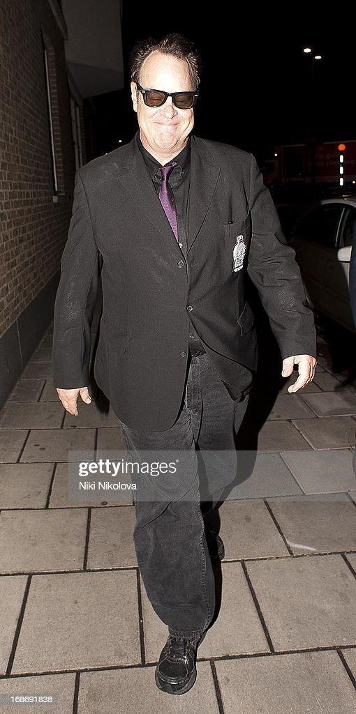 Dan Aykroyd sighting Leaving Annabells, Mayfair on May 13, 2013 in London, England.