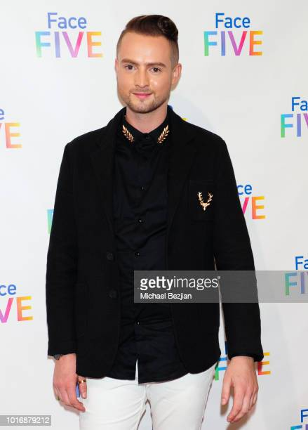 Nic Mora Vivian Nweze Dan Babic Kate Durocher Jason Carter and Margie Tor attend Meet The New 'Friends' The Introduction of Face Five at The Royals...