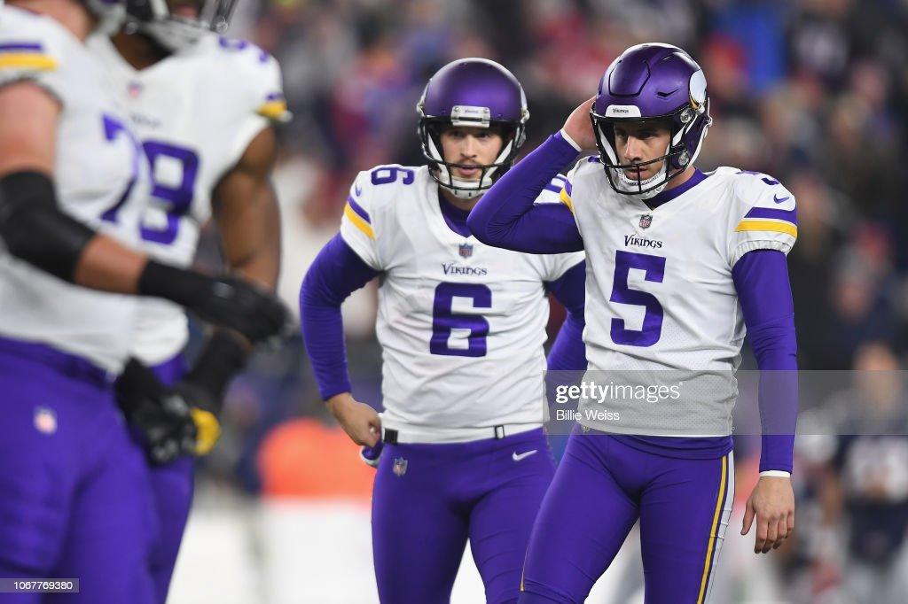 Minnesota Vikings v New England Patriots : Fotografia de notícias