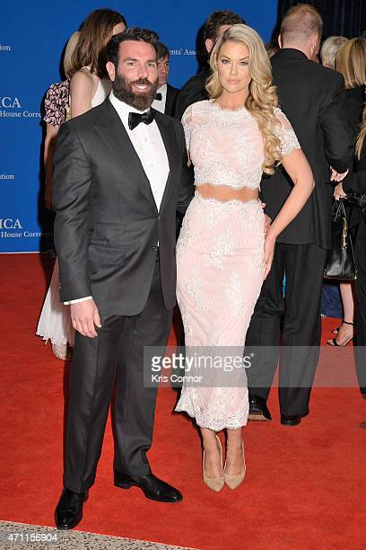 Dan Bilzerian and a guest attend the 101st Annual White House Correspondents' Association Dinner at the Washington Hilton on April 25 2015 in...