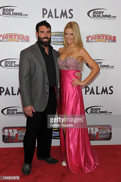 Dan Bilzerian and Jessa Hinton arrive at the 2011 Fighters Only World Mixed Martial Arts Awards on November 30 2011 in Las Vegas Nevada