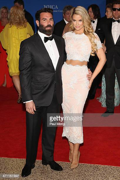 Dan Bilzerian and Jessa Hinton attend the 101st Annual White House Correspondents' Association Dinner at the Washington Hilton on April 25 2015 in...