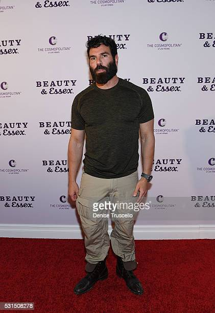 Dan Bilzerian arrives at the opening of Beauty Essex at the Cosmopolitan of Las Vegas on May 14 2016 in Las Vegas Nevada