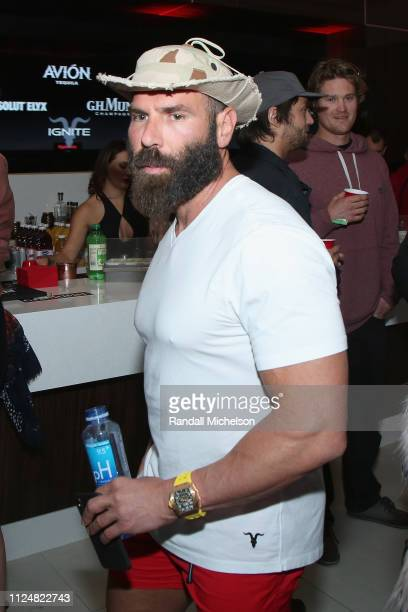 Dan Bilzerian attends Ignite's Angels and Devils PreValentine's Day Party on February 13 2019 in Bel Air California