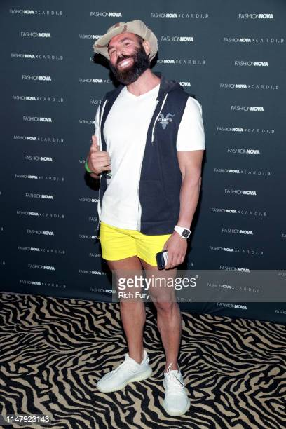 Dan Bilzerian attends the Fashion Nova x Cardi B Collection Launch Party at Hollywood Palladium on May 08 2019 in Los Angeles California