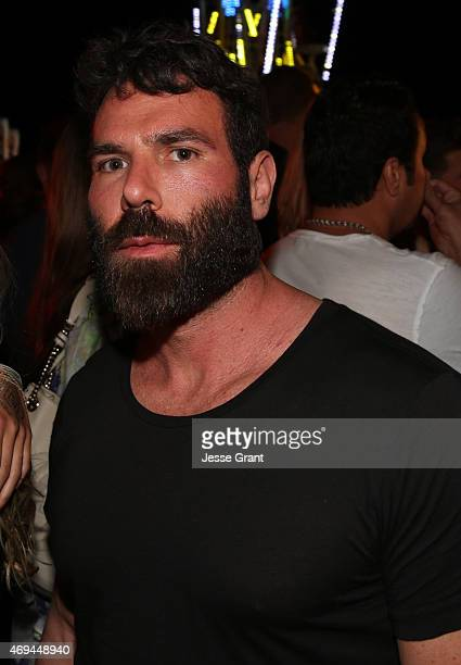 Dan Bilzerian attends the Neon Carnival with PacSun Dope the Movie and Tequila Don Julio at the Thermal Hangar on April 11 2015 in Thermal California