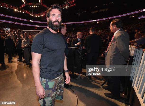 Dan Bilzerian in attendance during the UFC 209 event at TMobile Arena on March 4 2017 in Las Vegas Nevada