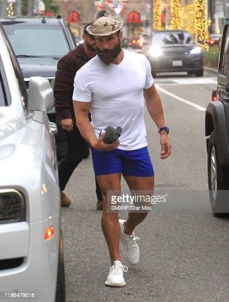Dan Bilzerian is seen on December 3 2019 in Los Angeles California