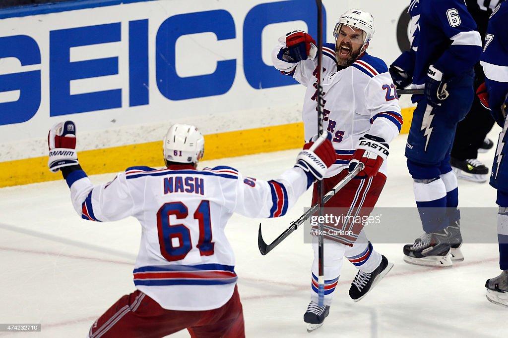 New York Rangers v Tampa Bay Lightning - Game Three : News Photo