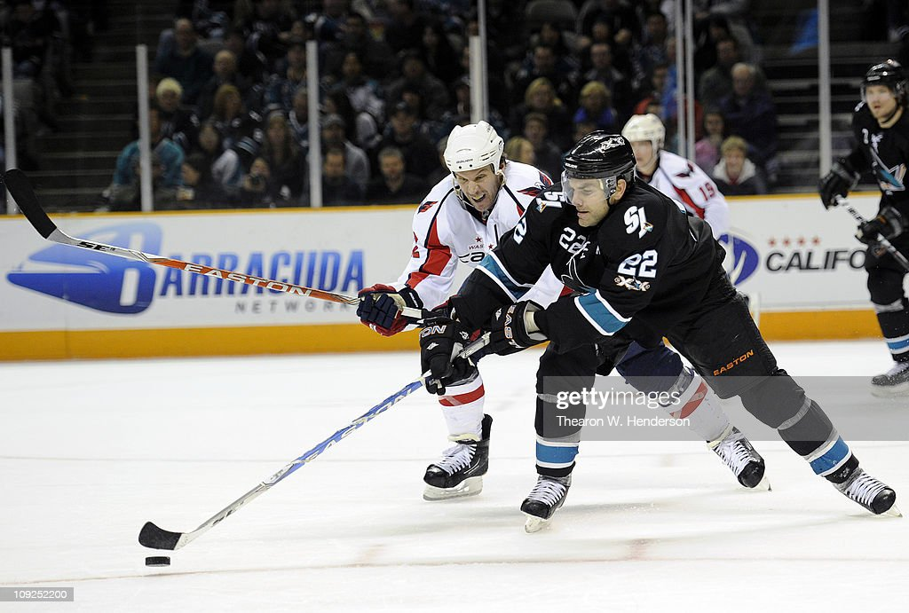 Washington Capitals v San Jose Sharks