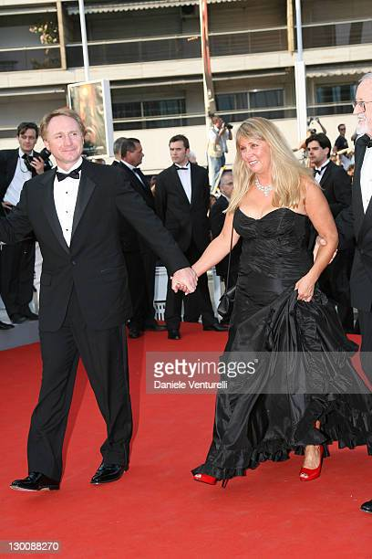 Dan Brown and Blythe Brown during 2006 Cannes Film Festival Opening Night Gala and World Premiere of The Da Vinci Code Arrivals at Palais de Festival...