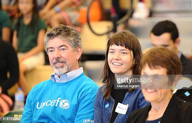 Dan Brutto attends UNICEF Kid Power Event at Charles R Drew Charter School on March 17 2016 in Atlanta Georgia