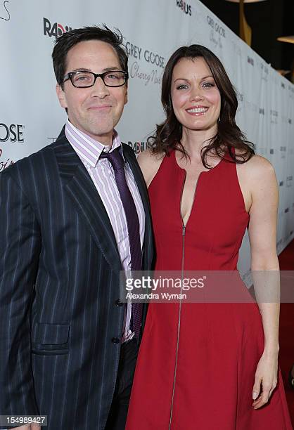 Dan Bucatinsky and Bellamy Young at RADiUSTWC 'he Details' Premiere hosted by GREY GOOSE Vodka held at The ArcLight Cinemas on October 29 2012 in...