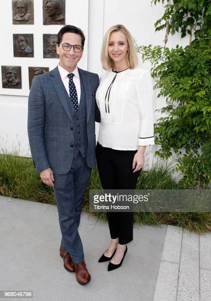 Dan Bucatinsky and Lisa Kudrow attend the 'Who Do You Think You Are' FYC event at Wolf Theatre on June 5 2018 in North Hollywood California