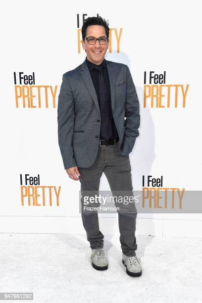 Dan Bucatinsky attends the premiere of STX Films' I Feel Pretty at Westwood Village Theatre on April 17 2018 in Westwood California