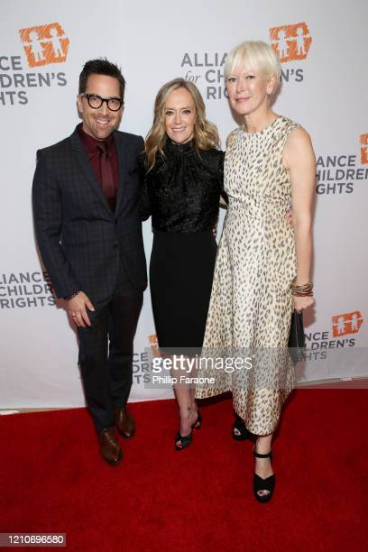 Dan Bucatinsky Karey Burke and Joanna Coles attend The Alliance For Children's Rights 28th Annual Dinner at The Beverly Hilton Hotel on March 05 2020...