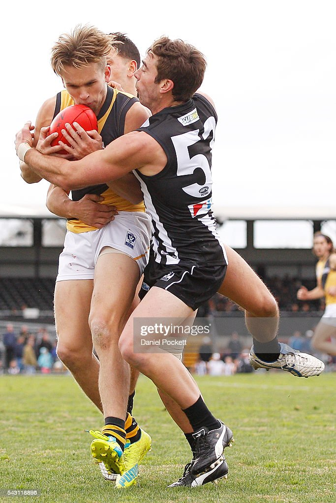 VFL Rd 12 - Collingwood v Richmond : News Photo