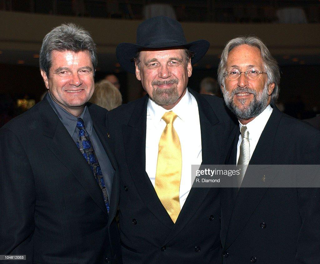 Dan Carlin Chairman The Recording Academy, Duane Eddy and Neil Portnow President The Recording Academy