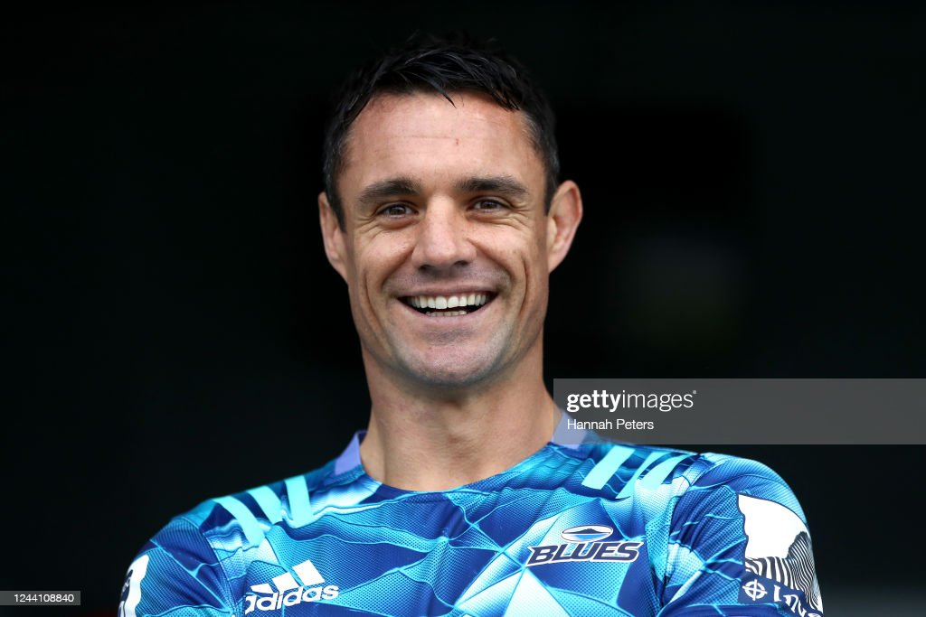 Dan Carter Joins The Blues : News Photo